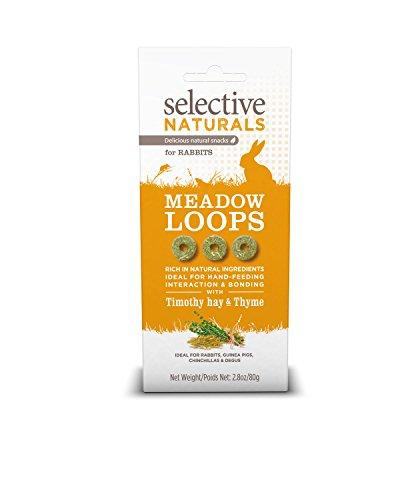 Selective Naturals Meadow Loops Alimento para Conejos con Timothy heno y tomillo