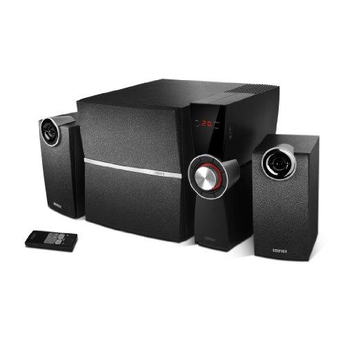 EDIFIER C2XD 2.1 Lautsprechersystem (53 Watt) mit Infrarot-Fernbedienung und optischem Eingang