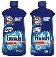 Jet-Dry Plus Dishwasher Rinse Aid 32 Fl Oz (2 Pack)