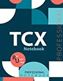 """TCX Notebook, Examination Preparation Notebook, Study writing notebook, Office writing notebook, 140 pages, 8.5"""" x 11"""", Glossy cover"""