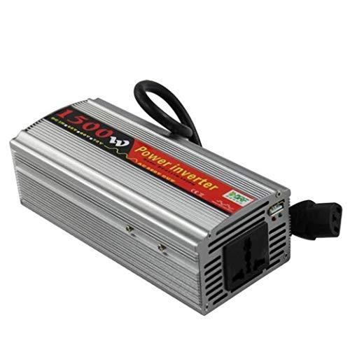 LYHY Inversor Inversor de Corriente 1500W Inversor de Corriente DC 48V 60V a 110V 220V Convertidor de CA con Productos de Calidad de Salida 12V-220V