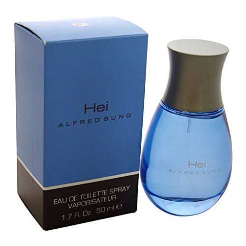 Hei by Alfred Sung for Men, Eau De Toilette Spray, 1.7-Ounce