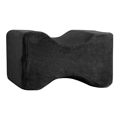 YJGYMZ Kniekussen van visco-elastisch schuim met afneembare overtrek voor zijslapers, comfortabel kussen voor zwangere vrouwen en zwangere vrouwen