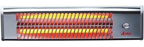 Ardes 437 stufetta elettrica Stufetta al quarzo Cromo 1200 W
