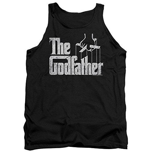 The Godfather - - Logo Hommes Débardeur, Large, Black
