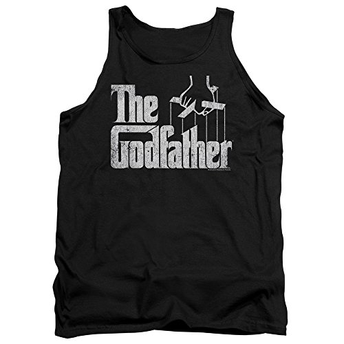 The Godfather - - Logo Hommes Débardeur, Large, Black