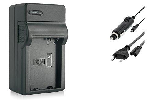 Ladegerät (Netz/KFZ) für EN-EL23 / Nikon Coolpix B700, P600, P610, P900, S810c