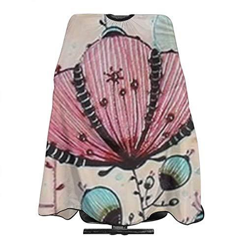 Personalisierte Muster Haarschneiden Friseur Kap Friseur Salon Schürzen Kleid (Öl Regenschirm)