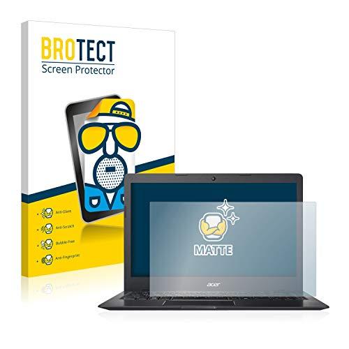 BROTECT Entspiegelungs-Schutzfolie kompatibel mit Acer Swift 1 Bildschirmschutz-Folie Matt, Anti-Reflex, Anti-Fingerprint