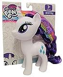 Hasbro My Little Pony E6850 Rarity - Figura de juguete con pelo peinable y peine, 15 cm, para niños