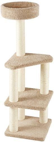 AmazonBasics - Árbol de actividades con poste rascador para gatos, grande