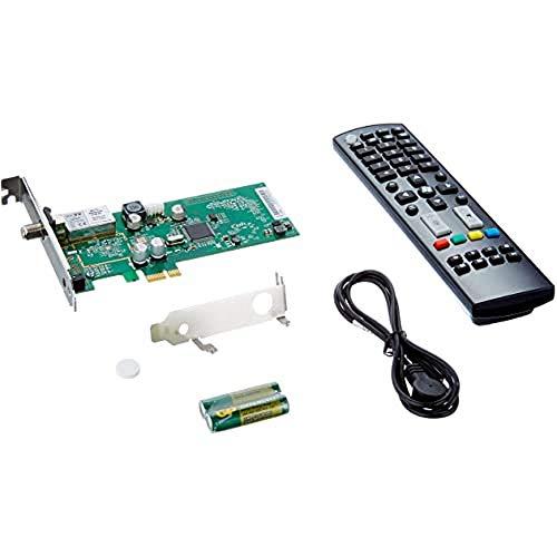 Hauppauge 1461 WinTV Starburst Scheda Satellitare con Sintonizzatore, DVB-S e DVB-S2 HD TV, Sintonizzatore Radio per PC, Nero Antracite