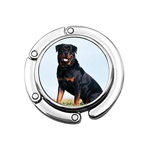 SHIZI Rottweiler - Colgador plegable para bolso (1 unidad)
