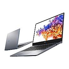 HONOR MagicBook 14 Laptop, 35,56cm (14 Zoll), Full HD IPS, 512 GB PCIe SSD, 8 GB RAM, 11. Gen. Intel Core i5, QWERTZ-Layout, Fingerabdrucksensor, Windows 10 Home - Space Grey©Amazon