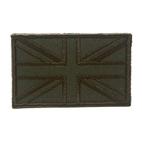 Cobra Tactical Solutions England Flagge Military Bestickt Patch mit Klettverschluss für Airsoft Paintball Flagge UK Union Jack für Taktischen Rucksack Kleidung