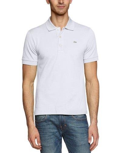 Lacoste Herren Poloshirt PH539C-00, Weiß (WHITE 001), Gr. 56 (Herstellergröße: 7)