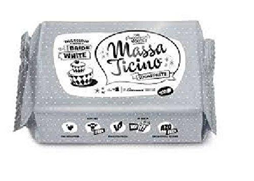 Pasta di zucchero bianca Massa Ticino 250 g