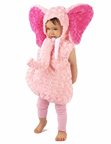 Generique - Disfraz Elefante Rosa niño 3-4 años (98-104 cm)