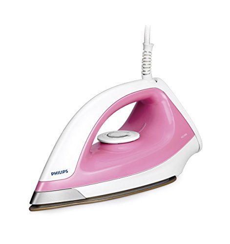 Philips GC158/02 1100-Watt Dry Iron (Pink)