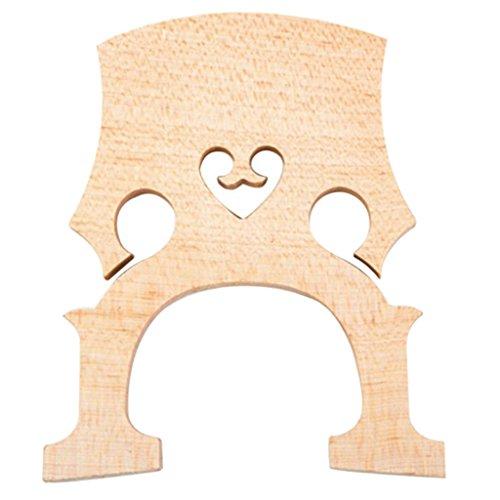 FITYLE Steg für 3/4 4/4 1/4 1/2 Cello, Cello Brücke Bridge Holz - 4/4