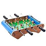 ZHJIUXING ZQ Portátil Soccer Football League, Table Football Table Soccer con Varillas telescópicas World Easy Assembly Marcador Smart System League Sport Regalo para niños, B