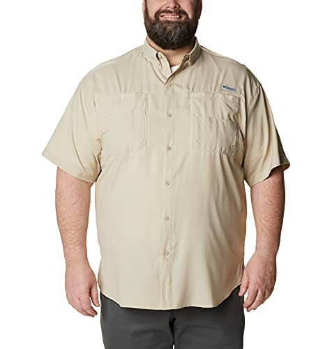 Columbia Tamiami II Chemise à Manches Courtes pour Homme XS fossile