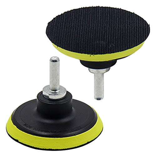 Great Features Of ZXHAO 3 inch Hook & Loop Backing Pad Orbital Sander Polisher Sanding Pad w M10 Drill Adapter 2pcs