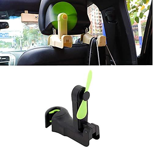 Fanático del coche Ventilador de coche USB en ventilador de coche Ventilador de coche Ventilador de refrigeración del coche Ventilador de coche USB en ventiladores de automóviles Aficionado al ventila