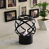 JHY Design Runder Tisch-Feuerschüsseltopf mit Vierseitigem Glas 24 cm Hoch Tragbarer Tisch-Kamin -Sauber Brennender Bio-Ethanol-Kamin Ohne Ventil für Veranstaltungen im Innen- und Außenbereich