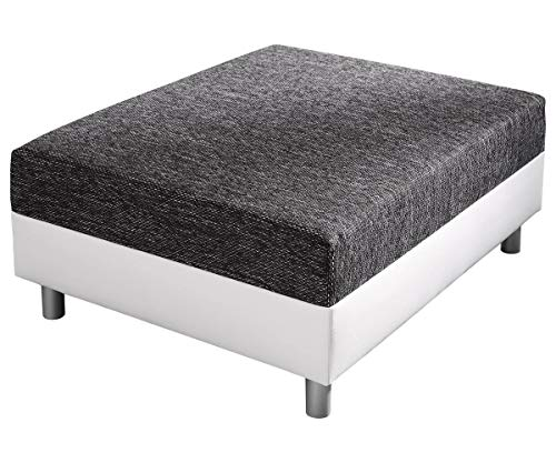 DELIFE Sofa Hocker Clovis Modul B98 x T83 Sitzhocker