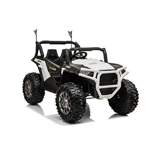 ATAA MAX Buggy 4x4 Auto elettrica per bambini 2 posti e 4 motori