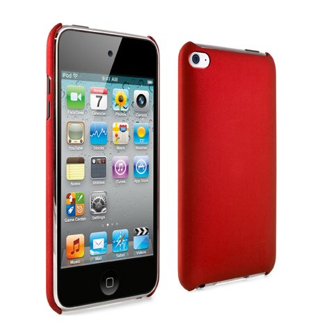Proporta Cover Posteriore Crystal Apple 4G iPod touch - Rosso