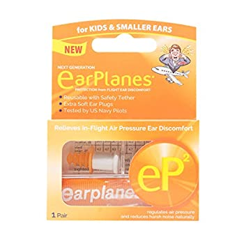 eP2 for Kids by Cirrus Healthcare 1 EarPlanes Reusable Pair  1 Reusable Pair