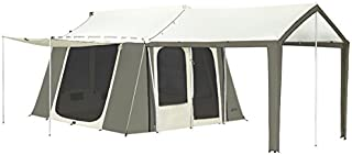 kodiak canvas 12x9 cabin tent w deluxe awning