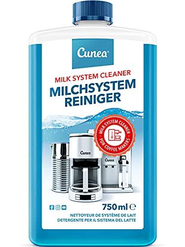 Milchsystemreiniger für Kaffeevollautomat Flüssig-Reiniger für Milchaufschäumer - 750ml Milchschaumreiniger entfernt Milchrückstände, kompatibel mit Jura Melitta WMF Delonghi Nespresso Seaco Siemens