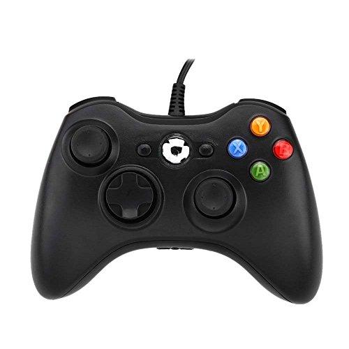 USB-Gamepad mit Kabel, für Microsoft Xbox 360, Windows, PC, Laptop, Computer, von Jalex