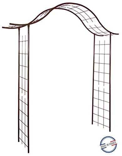 Louis Moulin 3256 - Arco da giardino in metallo e ferro anticato 200 x 250 cm