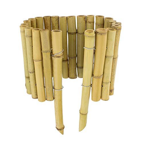 7Penn Beeteinfassung aus Bambus, 58,4 cm, flexible Bambus-Bordüre für Garten- und Landschaftsgrenzen, 12 Stück