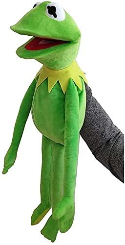 Marionetas De Rana Kermit, Juguete De Peluche De 60 Cm, El Espectáculo De Los Muppets, Muñeca Kermit, La Rana, Marionetas De Mano, Muñeco Suave, Niños Verde