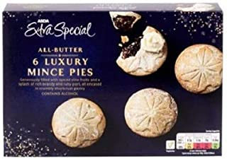 ASDA Extra Special All Butter Luxury Mince Pies - 6 Pk