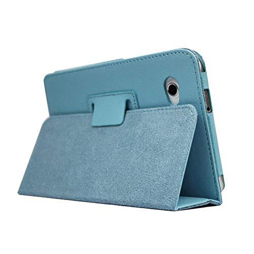 Funda de piel sintética con tapa para Samsung Galaxy Tab 2 de 7,0 pulgadas, GT-P3100, P3110, P3108, P6200, P6210, P6210, color azul cielo