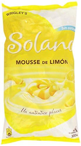 Solano - Mousse de Limón - Caramelo duro sin azúcar - 900 g