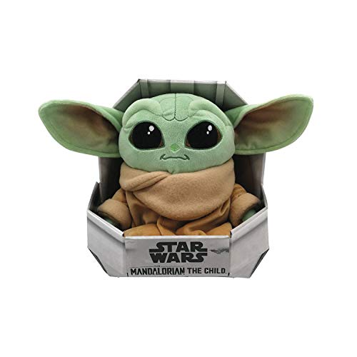 Simba 6315875779 Disney Mandalorian / The Child / Baby Yoda / 25cm / Plüschfigur / Sammler-Edition