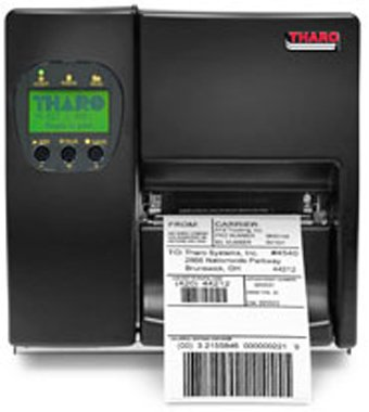 Tharo H-427 H-400 Series Thermal Transfer Printer, 203 Dpi, 110-220 Volts, USB, Multiple Interfaces, All Metal Construction, Large Media Viewing Window