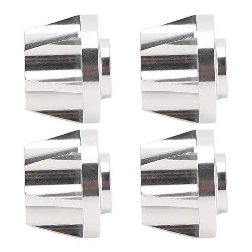 Buje Hexagonal de Rueda de Coche RC confiable Buje Hexagonal de Rueda 1/10 4 Piezas para Coche RC 1/10 con Rendimiento Mejorado(17mm)
