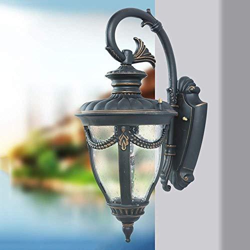 Wandlamp wandlamp van kristalglas wandlamp wandlamp wandlamp wandlamp zwart klassiek lantaarn van glas wandlamp buitenverlichting tuin