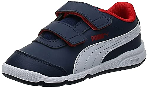PUMA Stepfleex 2 SL Ve V Inf, Zapatillas, Azul (Peacoat/White/Flame Scarlet), 21 EU