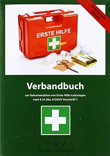 Verbandbuch zur Dokumentation von Erste-Hilfe-Leistungen: nach § 24 Abs. 6 DGUV Vorschrift 1