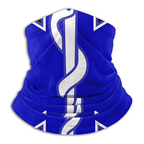 jhgfd7523 Máscara de cuello para técnico médico de emergencia, bandana sin costuras, para hombres, mujeres, sol, viento, protección contra el polvo, esquí, montar a caballo y correr