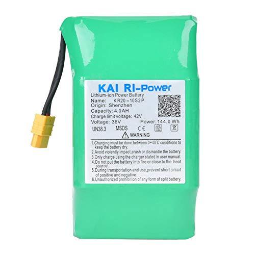 DAUERHAFT Batterie de Voiture d'équilibre Durable de Grande capacité 36V 4000Mah 18650, pour Voiture, pour Voiture de Torsion